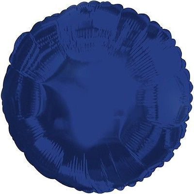 Navy Blue Round Decorator Balloon
