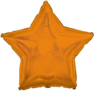 Orange Star Decorator Balloon