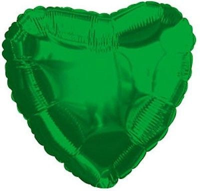 Green Heart Decorator Balloon