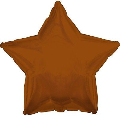 Brown Star Decorator Balloon