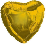 Gold Heart Decorator Balloon