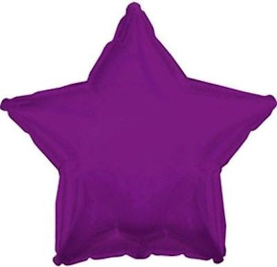 Purple Star Decorator Balloon