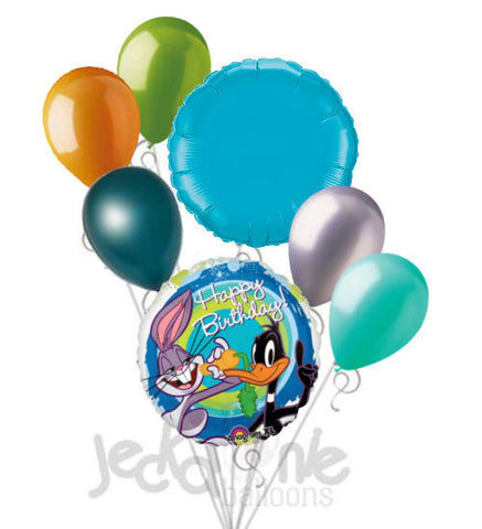 Looney Tunes Bugs Bunny & Daffy Duck Happy Birthday Balloon Bouquet