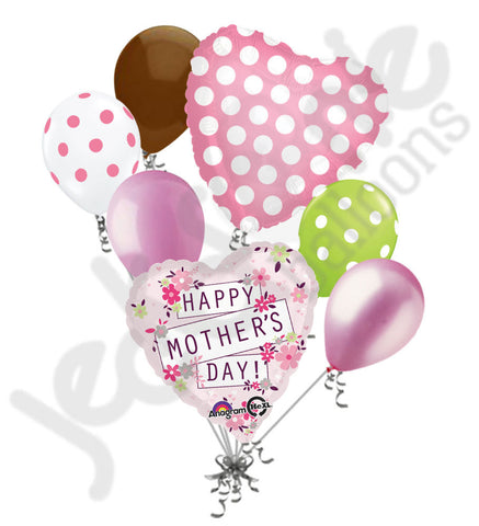 Dainty Flowers Happy Mother's Day Balloon Bouquet