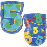 5th Birthday Themed Number Balloon Bouquet
