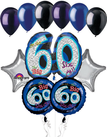 Oh No the Big 60 Balloon Bouquet