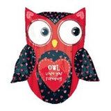 Love You Forever Owl Balloon Bouquet