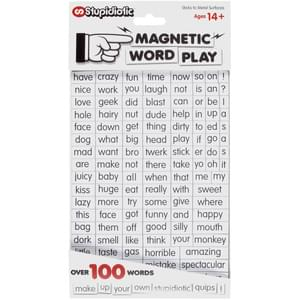 PG rated Magnetic Word Play - Safe for Work Home & Kids