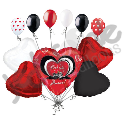 Pepe & Penelope Love Heart Balloon Bouquet