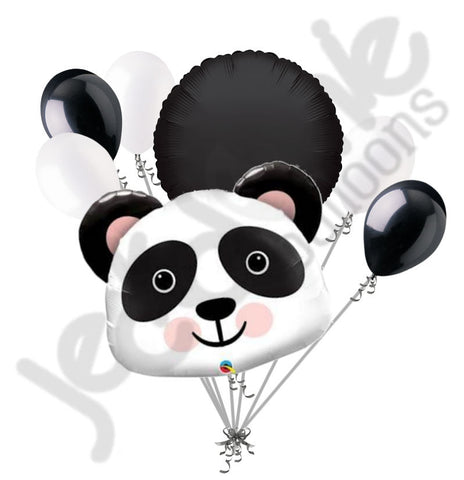 Cute & Cuddly Panda Bear Balloon Bouquet