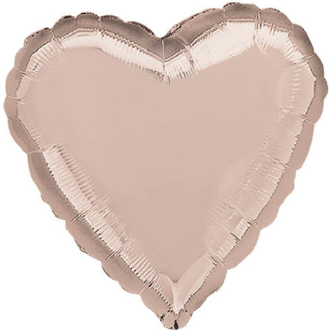 Rose Gold Heart Decorator Balloon