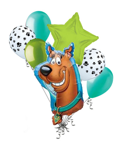 Scooby Doo Head Balloon Bouquet