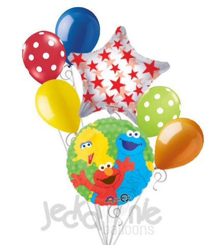 Sesame Street Friends Balloon Bouquet