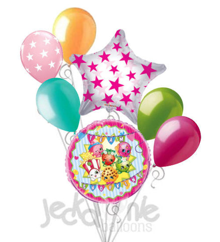 Team Shopkins Balloon Bouquet