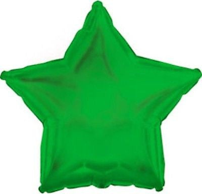 Green Star Decorator Balloon
