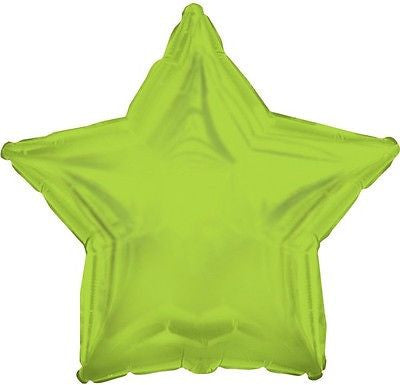 Lime Green Star Decorator Balloon