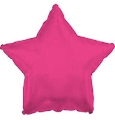 Hot Pink Star Decorator Balloon