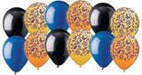 Goldenrod Damask Coordinated Latex Balloons