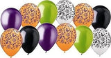 Orange Damask Coordinated Latex Balloons