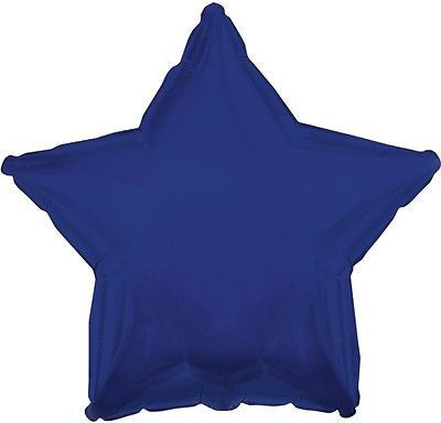 Navy Blue Star Decorator Balloon