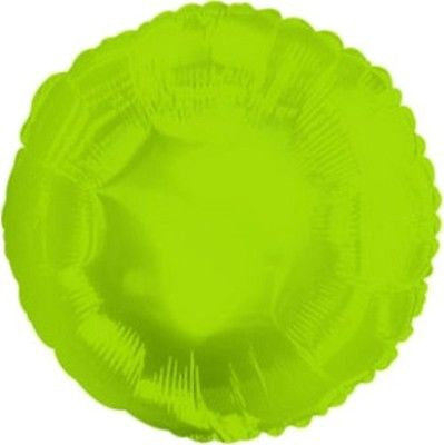 Lime Green Round Decorator Balloon