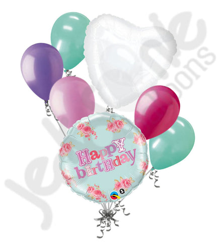 Included In This Bouquet 7 Balloons Total