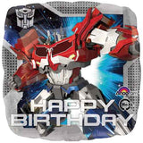 Transformers Prime Happy Birthday Balloon Bouquet