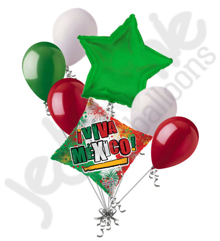 Viva Mexico! Cinco de Mayo Balloon Bouquet