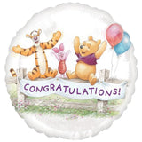 Disney Winnie Pooh Congratulations Balloon Bouquet