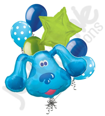 Blue's Clues Head Balloon Bouquet