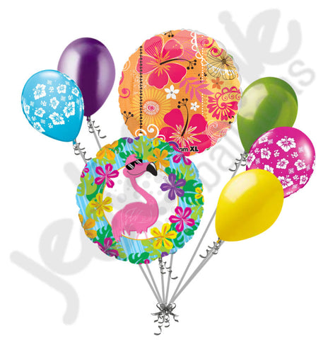 Summer Cool Flamingo Balloon Bouquet