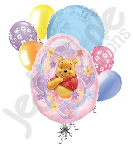 Disney Winnie Pooh Easter Egg Balloon Bouquet