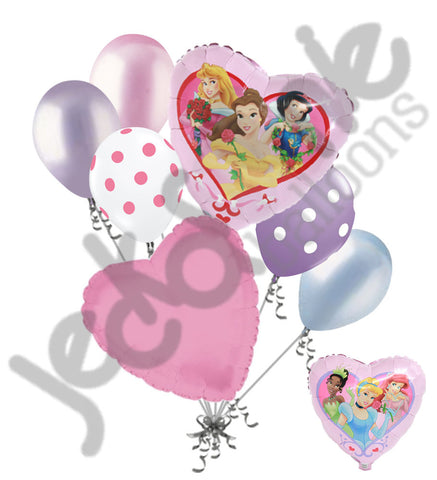 Disney Princess Love Balloon Bouquet