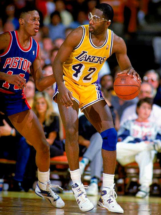 James Worthy y sus New Balance
