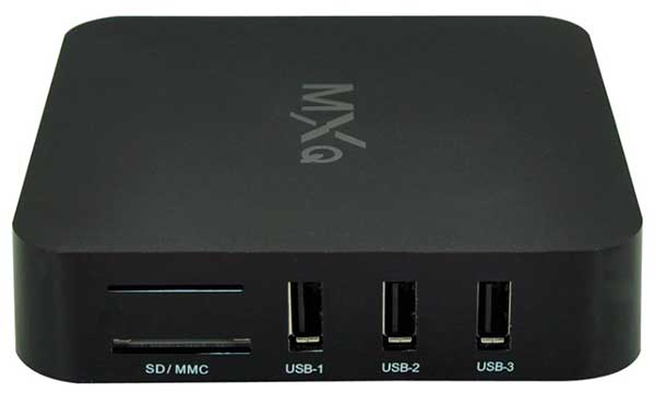 Conexiones del Android TV Box