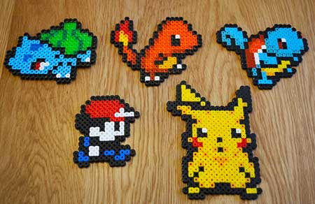 Hama Beads Pokemon