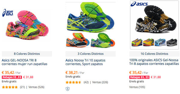 zapatillas asics aliexpress
