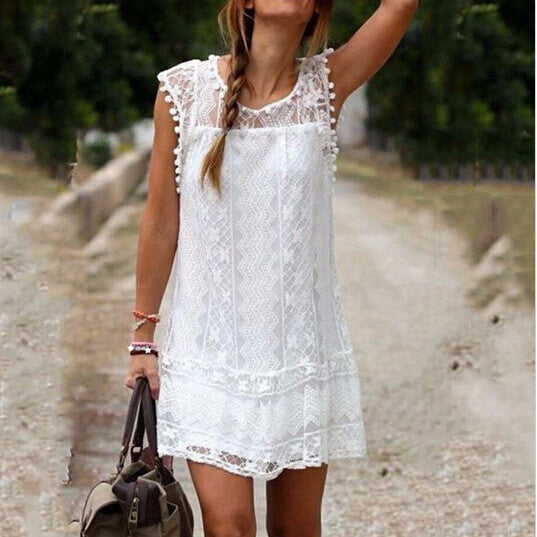 Casual Beach Mini Dress