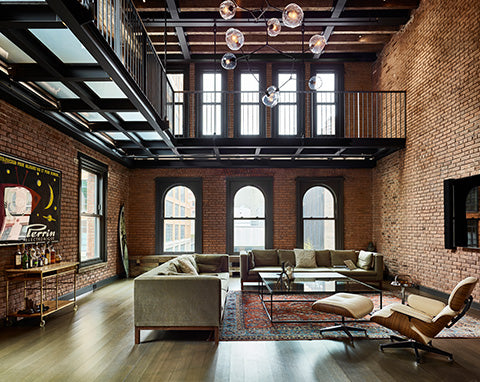 10 Hubert Street Industrial Interior Design New York