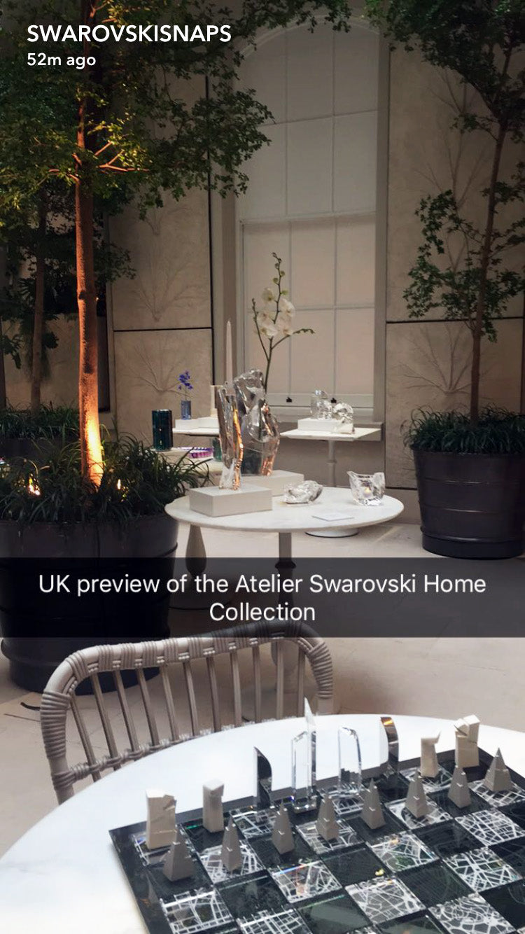 Atelier Swarovski Home collection launch London