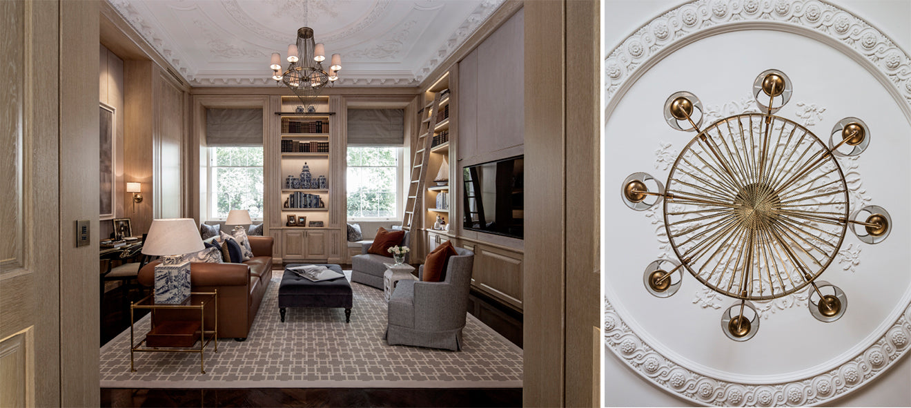 Luxury homes London. Belgravia 1508 Interior Design, Project Pearl