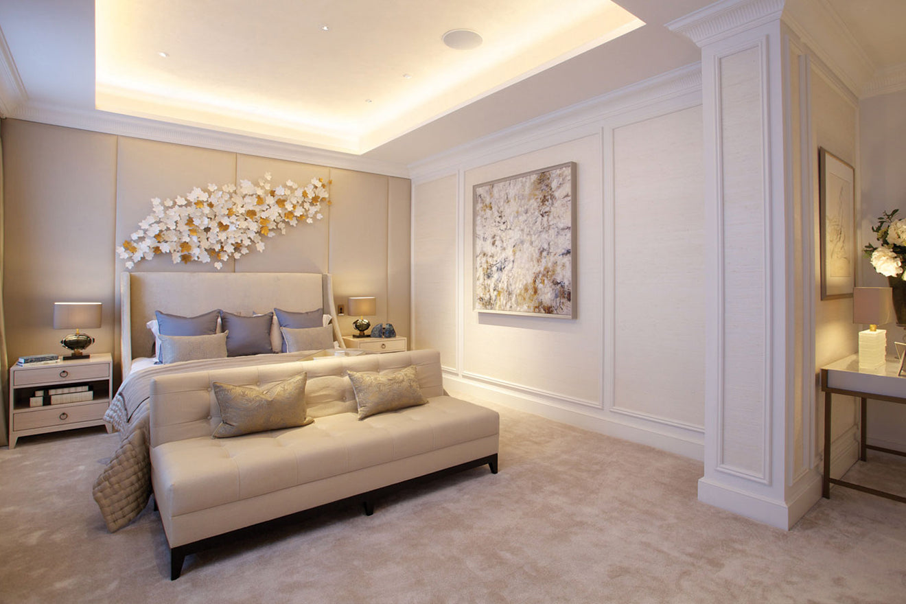 1508 London Interior Design Project Adam Bedroom