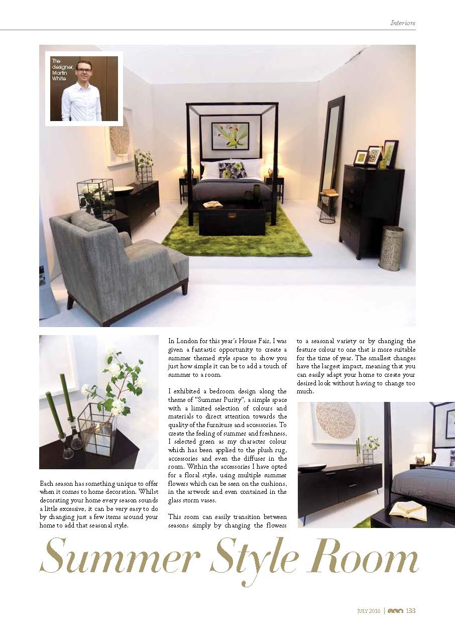 Martyn White Designs Style Rooms Ego Magazine