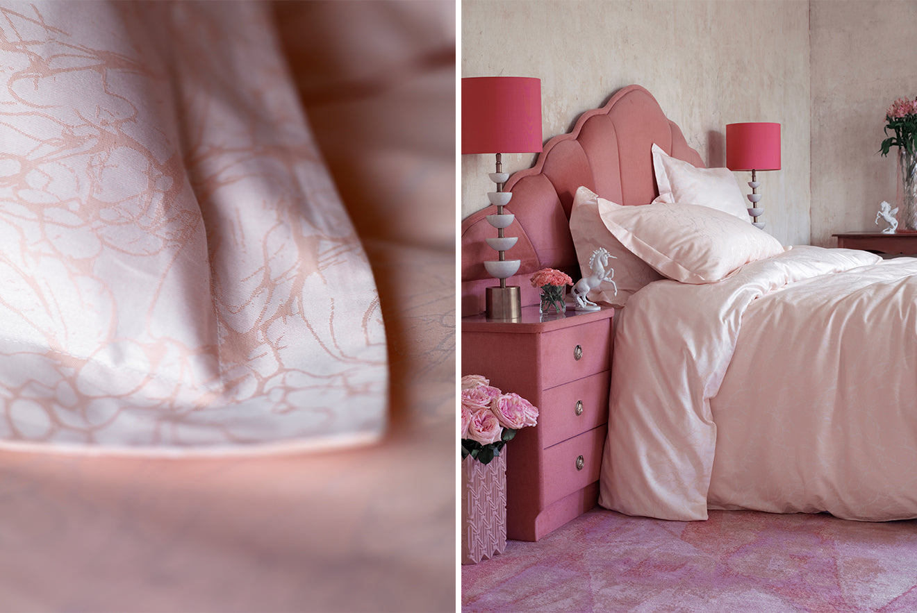 pink bedding designs from 2LG