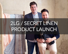 Secret Linen collaboration 2LG
