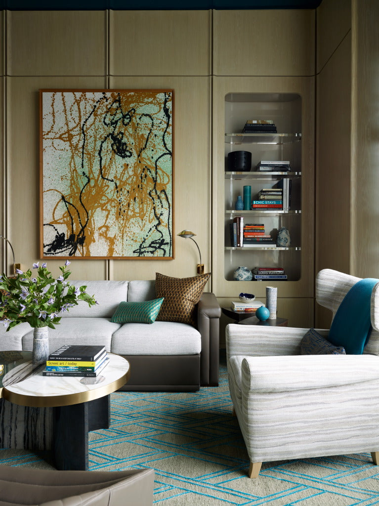 William McIntosh Interior Design 432 Park Avenue