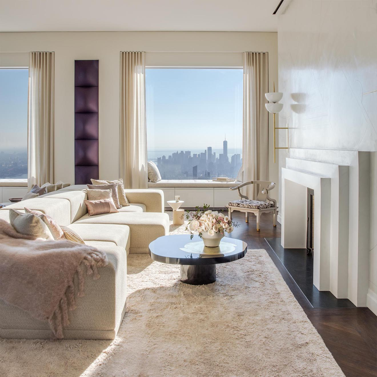 432 Park Avenue New York Living Space