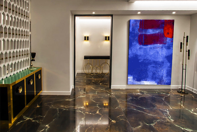 50 shades of grey apartment entrance hall Boca Do Lobo