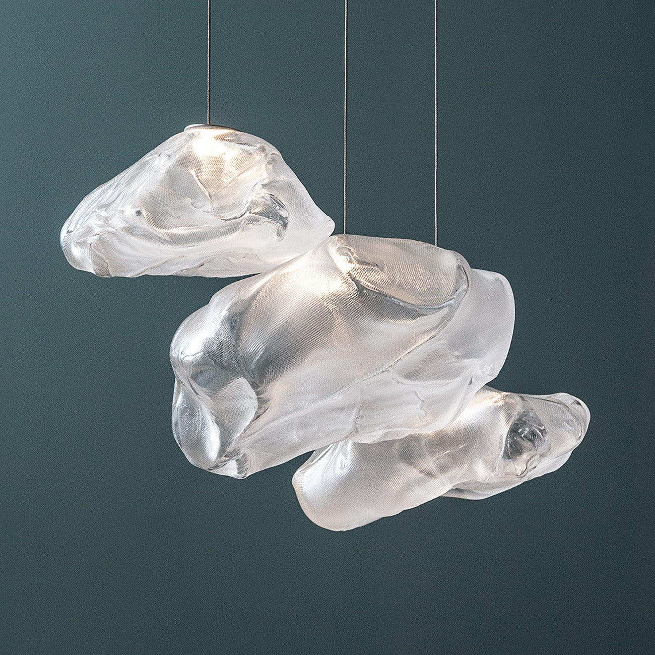 modern fluid lighting pendant