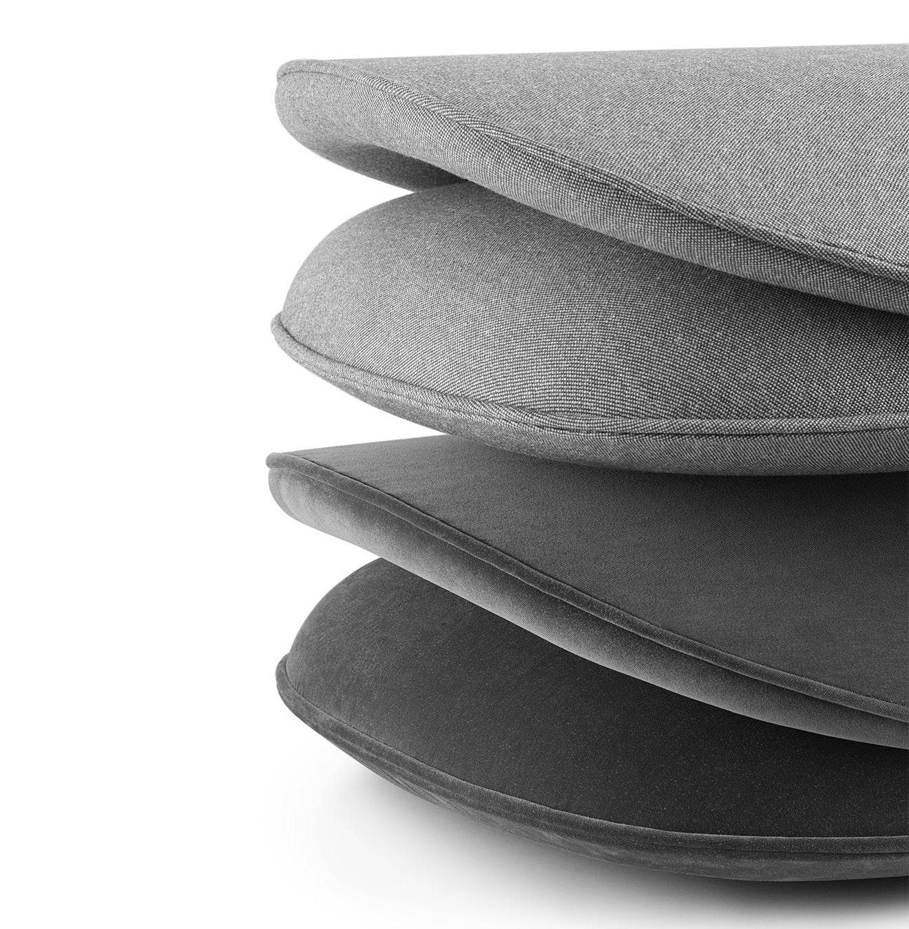 Grey upholstered chair cushions Normann Copenhagen Ace Chair